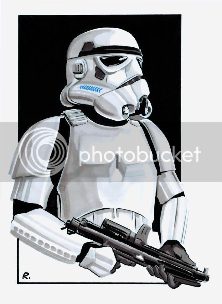 Graeme Neil Reid,Illustration,Star Wars,Stormtrooper