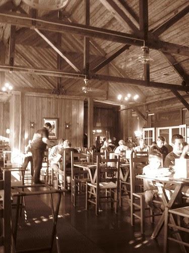 Big Meadows Lodge Dining Room Menu