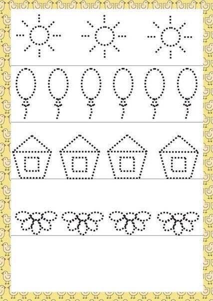 Number Names Worksheets » Writing Practice For Preschoolers  Free Printable Worksheets for Pre