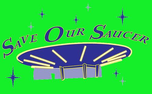 Save Our Saucer lime