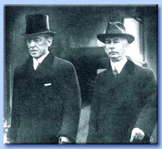 woodrow wilson e il colonnello edward mandell house
