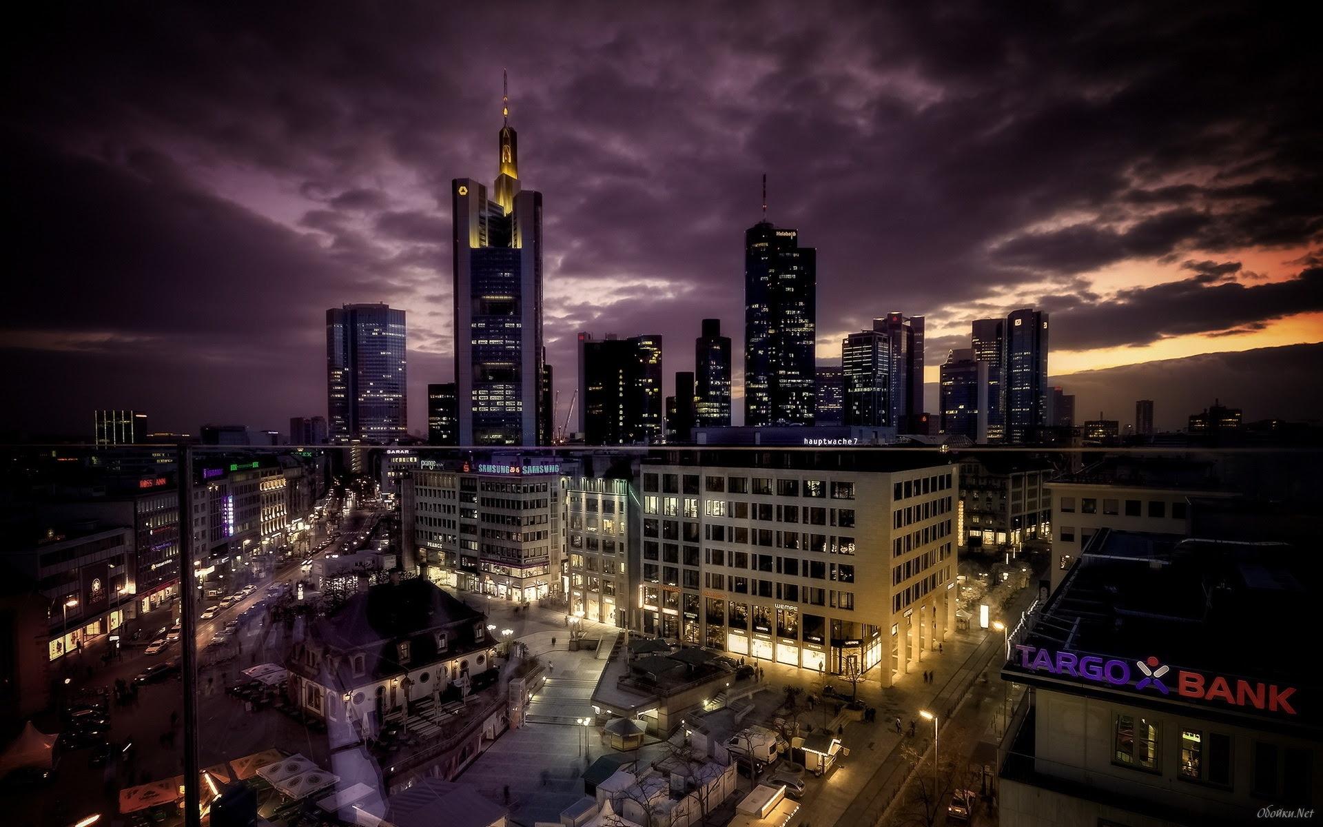 City Night Wallpaper HD - WallpaperSafari