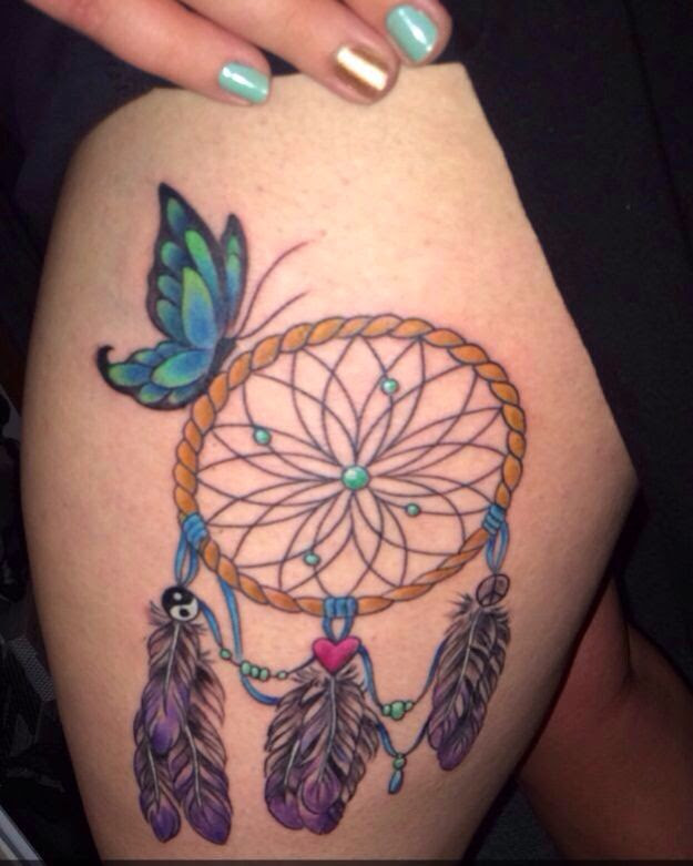 Dream Catcher Tattoo With Names Dreamcatcher Tattoo With Names