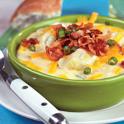 Image result for potato baked soup