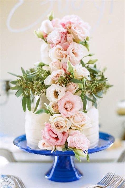 Cobalt blue and pink wedding
