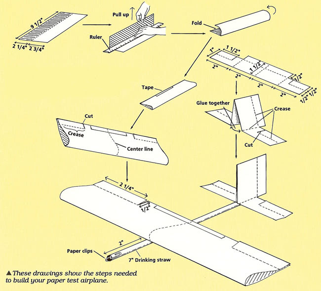 how to make a paper plane that flies forever