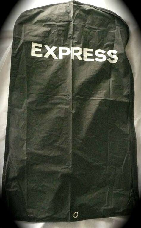 lot   express garment bags    black vinyl shirts