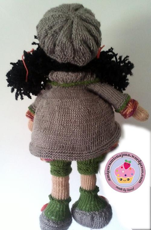 knitted doll Mandy muñeca tejida tricot  najma21
