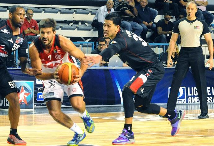 Flamengo X Halcones Rojos, liga das americas de basquete (Foto: Marcelo Figueras / FIBA Americas)