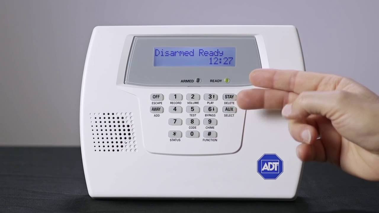 Adt Home Security Systems >> Home Security Adt Wireless Alarm System Uk