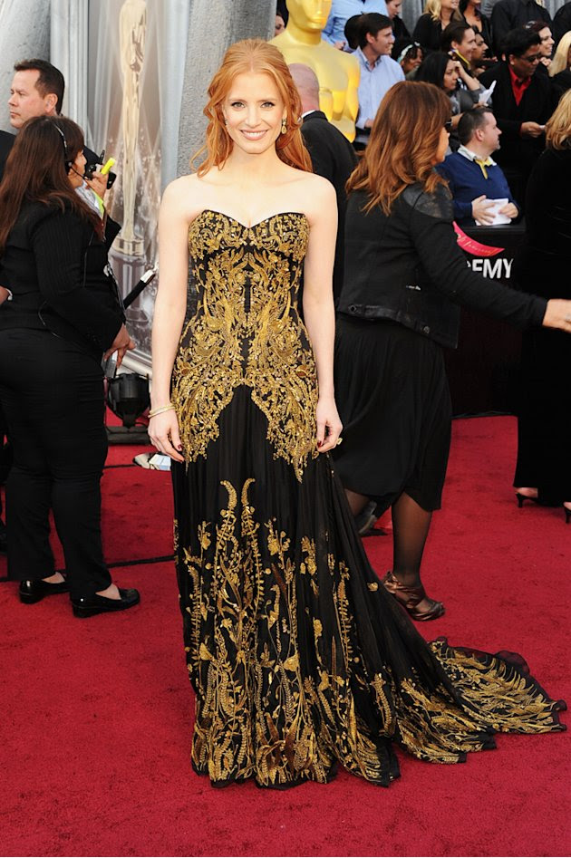 2012 Oscar Arrivals Jessica…