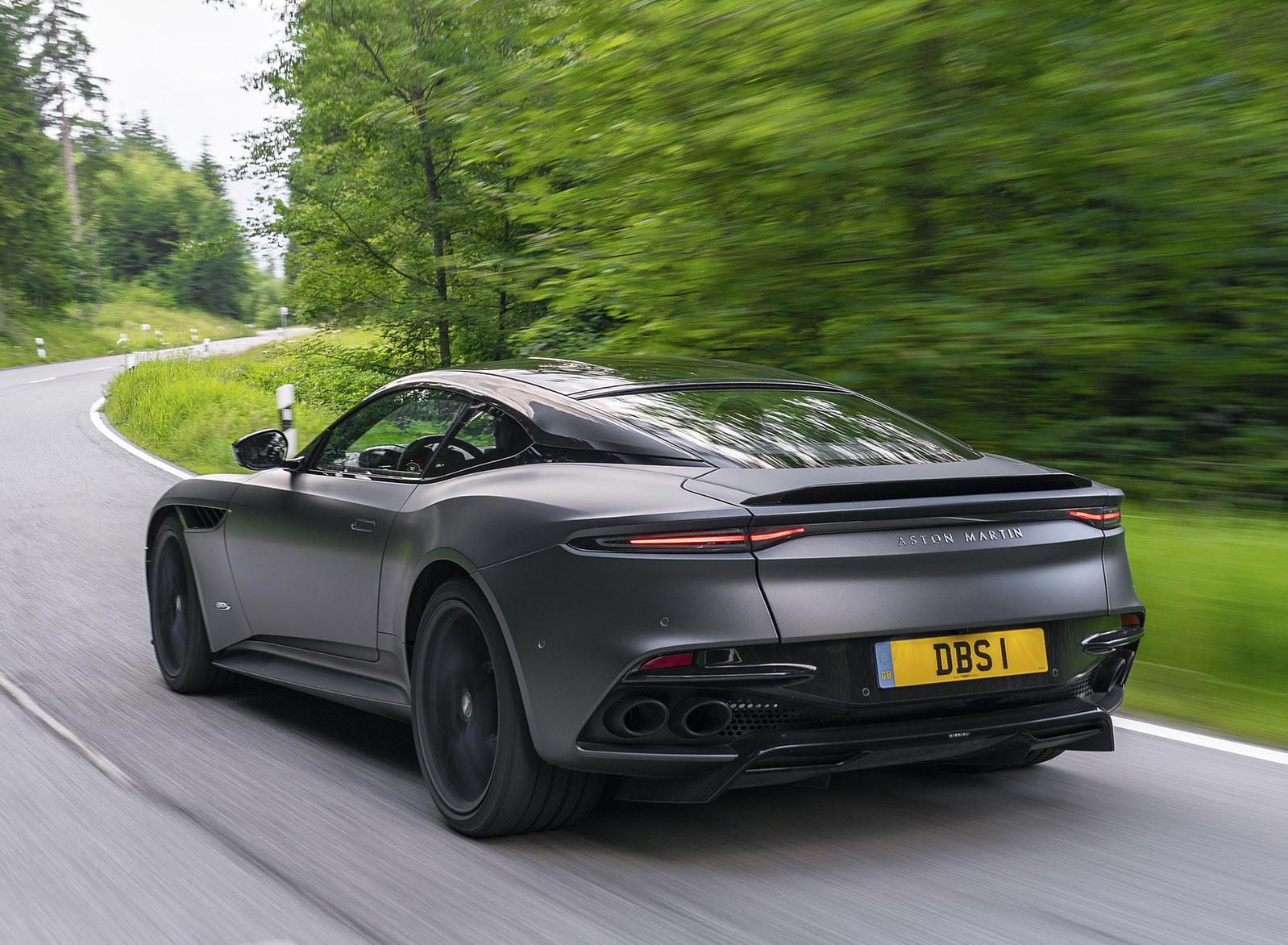 2019 Aston Martin Dbs Superleggera Color Satin Xenon Grey Rear Three Quarter Wallpapers 69 Newcarcars