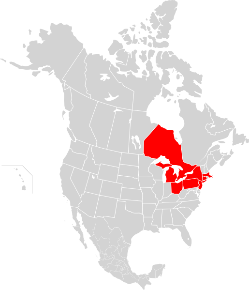 File:Map of North America, blackout 2003.svg