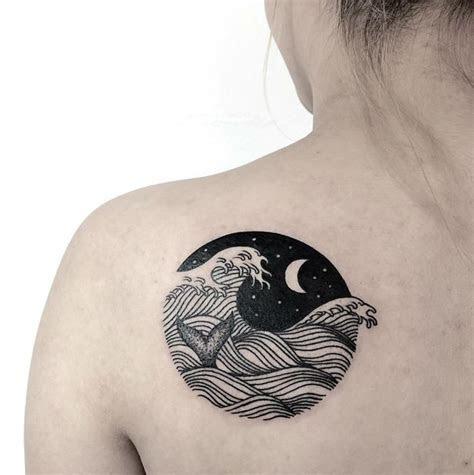 ocean tattoos express love  blue ocean