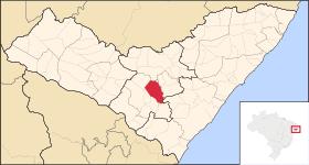 Localização de Arapiraca