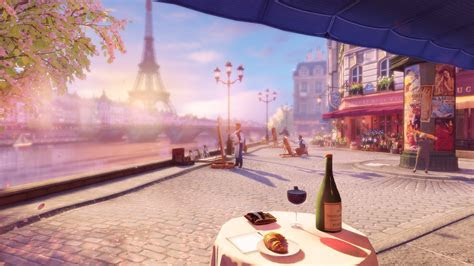 video games screen shot paris bioshock infinite burial