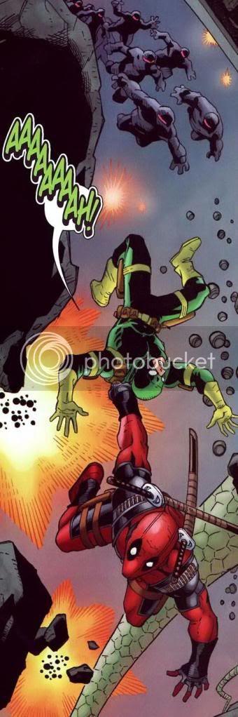 Deadpool vivendo um abracadabra
