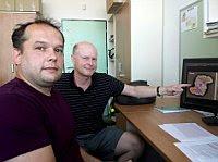 Roman Kouřil y Petr Ilík, foto: Blanka Mazalová, ČRo