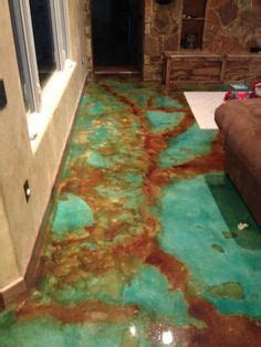 poured acid washed concrete google search acid stained