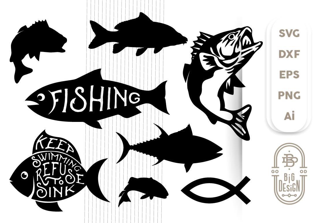 Download Free Fishing Svg Cut Files