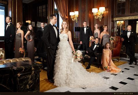 A Classic   Elegant Blackstone Hotel Wedding   Chicago