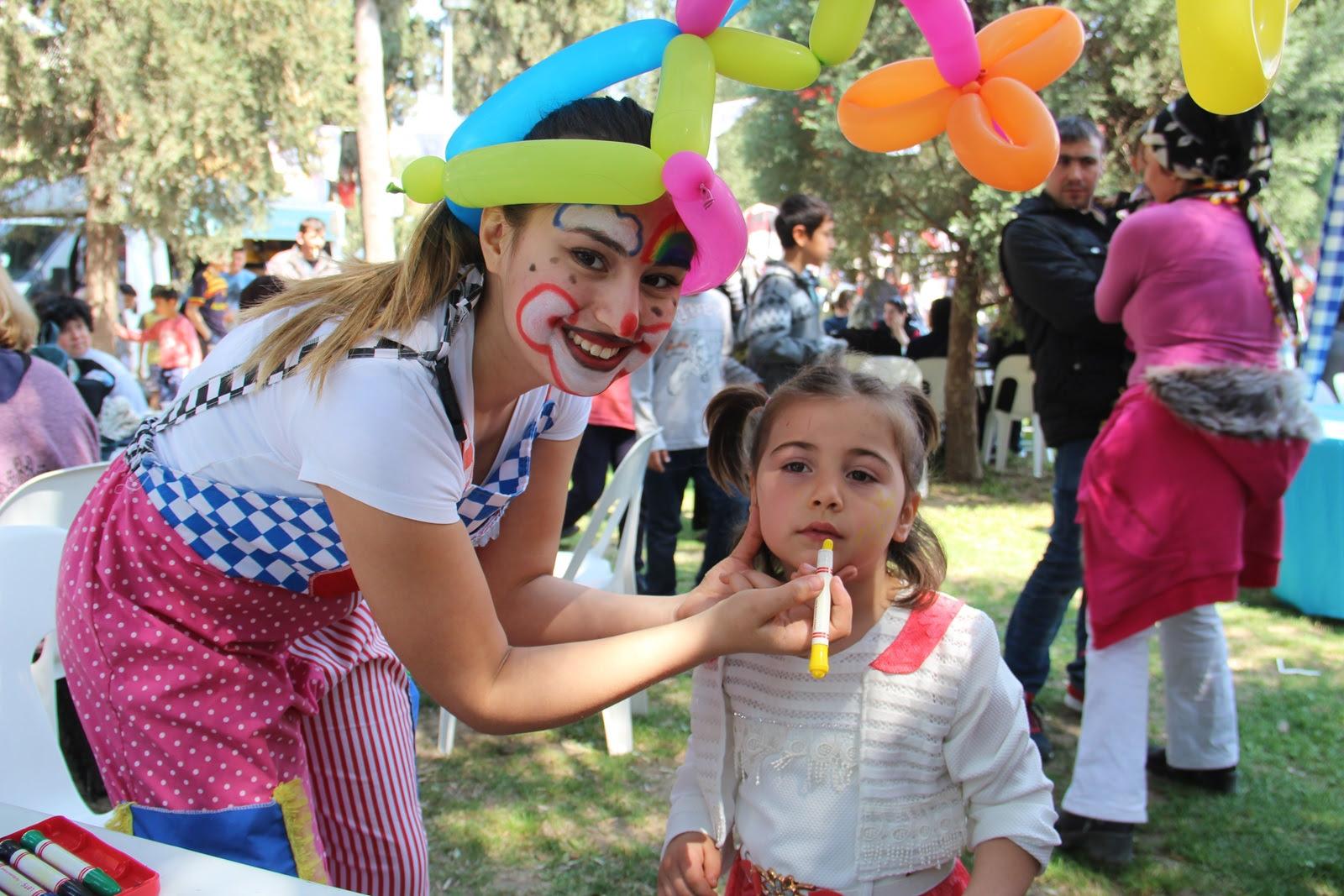 Piknik Organizasyonu Yüz Boyama Servisi Istanbul Organizasyon