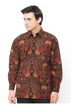 Aneka Baju Batik Pria Lengan Panjang