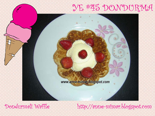 Dondurmali Waffle - Anne Mimar