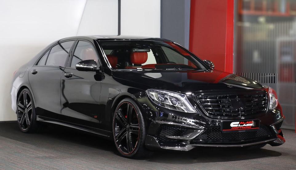 Black Knight: Brabus Mercedes S63 850