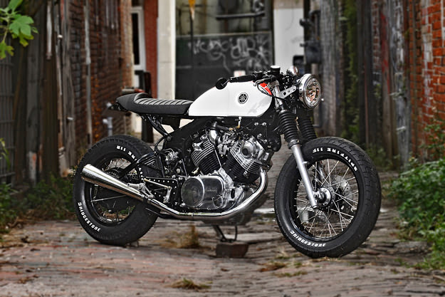 Yamaha Virago custom motorcycle