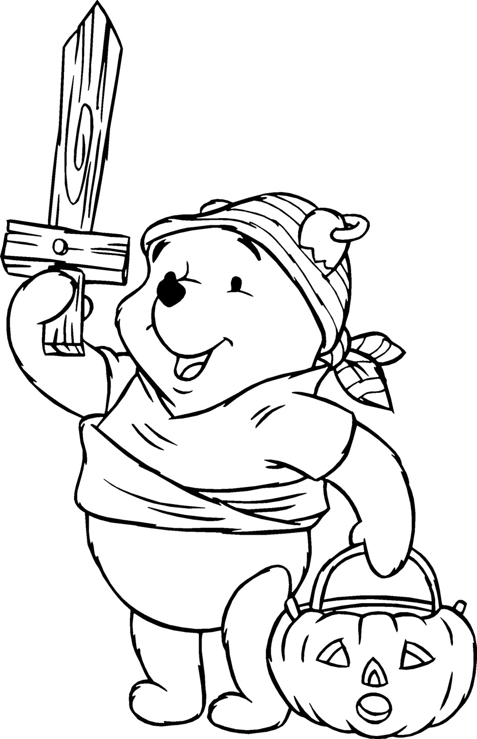 Winnie Pooh Para Colorear Pintar E Imprimir