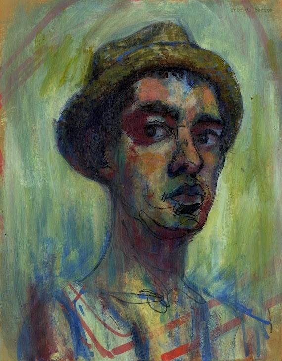 Self Portrait (Original Painting)