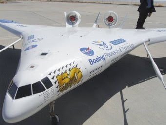 X-48C. Фото с сайта janes.com