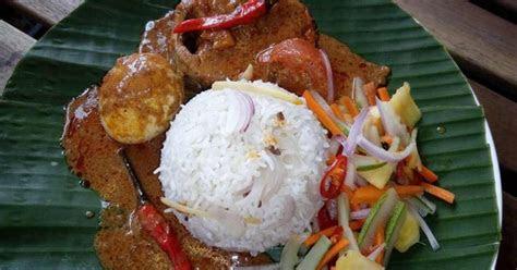 resepi nasi dagang terengganu asli gulai ikan tongkol