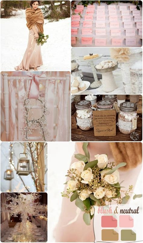 Winter Wedding Color Palette 2013 Trends