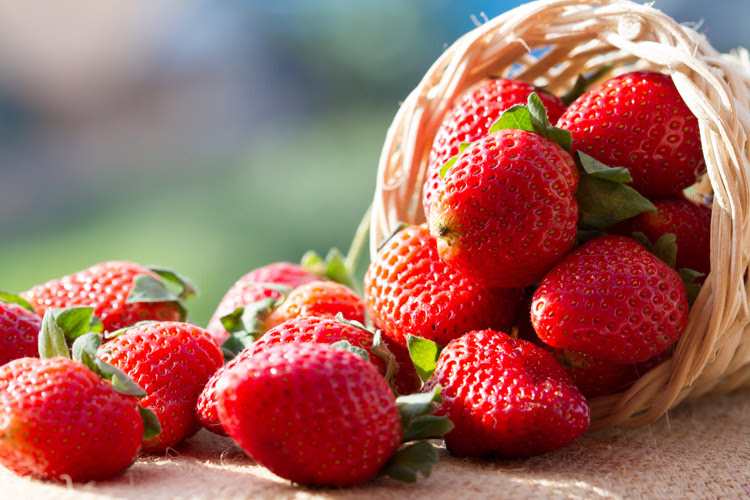 Strawberries: they help regulate mood | Photo: Shutterstock