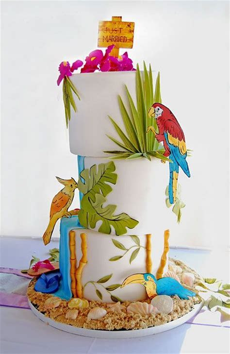 Southern Blue Celebrations: Tropoical/Luau Cakes