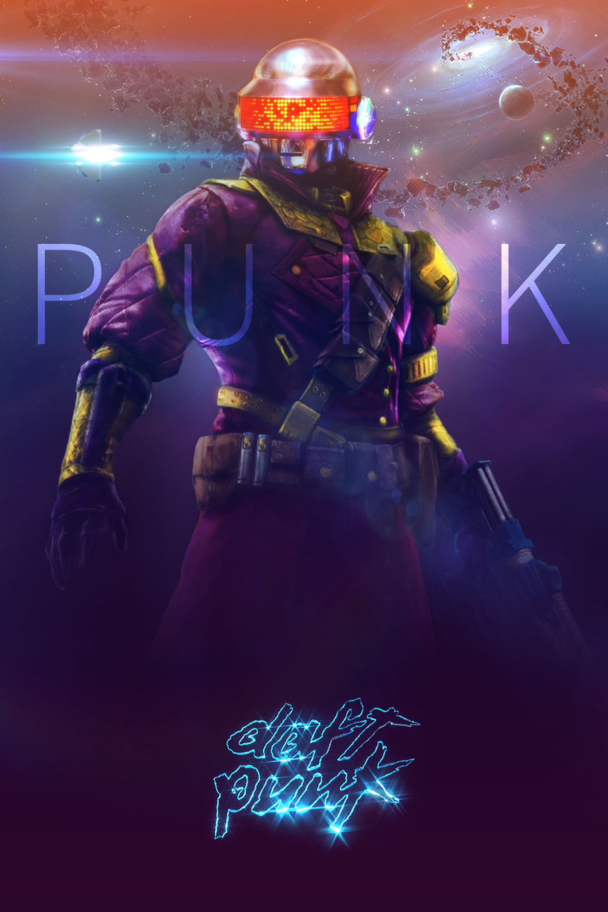 Daft Punk Meets Destiny by Sean Gall