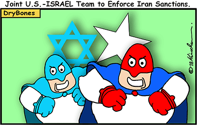 Dry Bones cartoon, Israel, France, Britain, antisemitism, Aliyah,