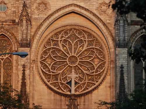 Rose Window at Summer Solstice