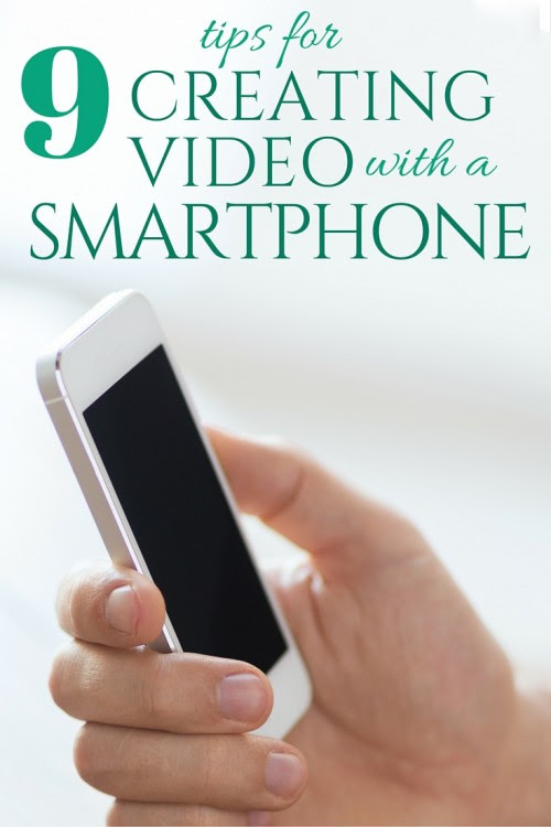 9 Tips for Creating Videos with Your Smartphone - The Crafty Blog Stalker - HMLP 100 - Feature
