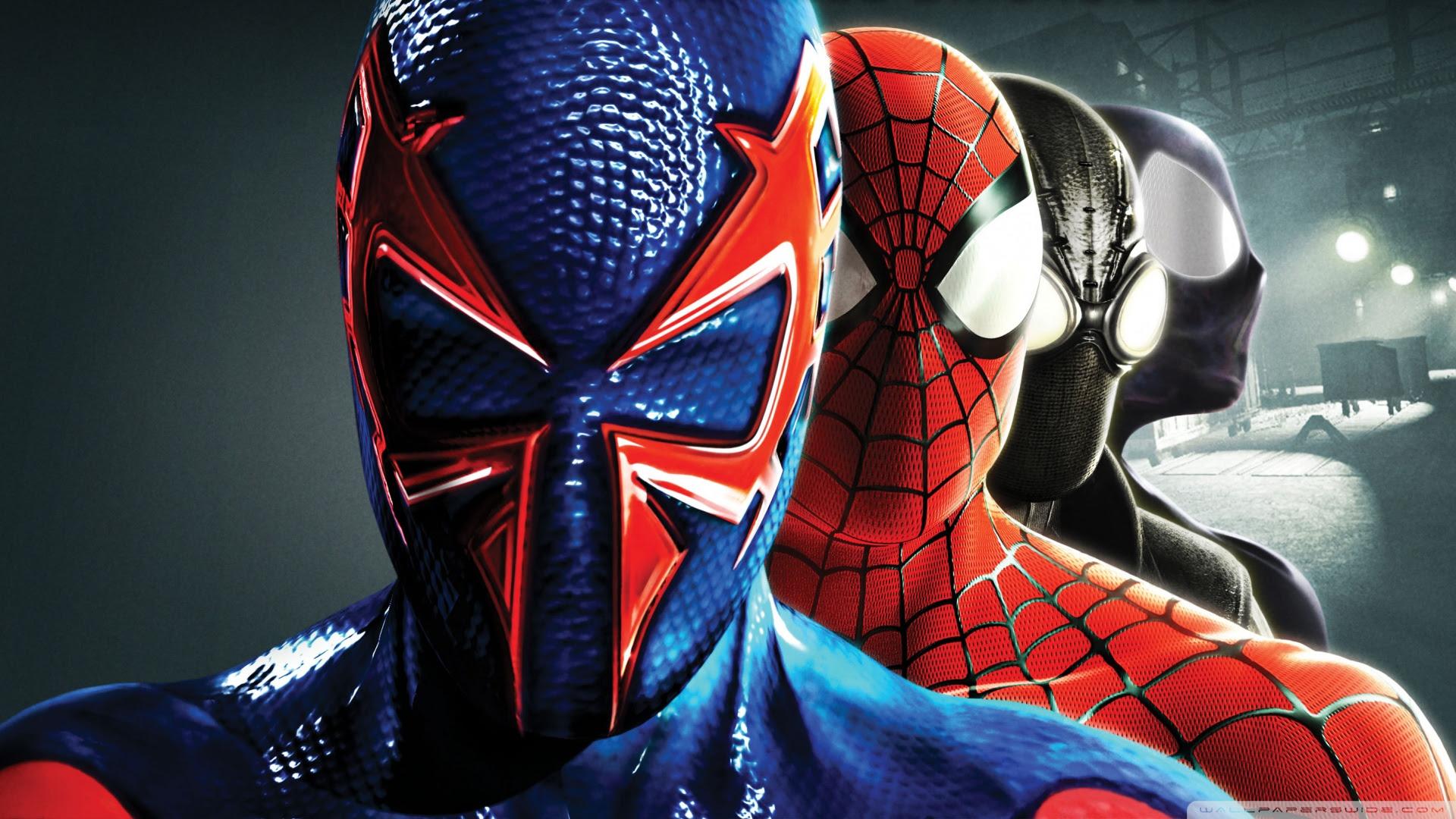 Spider Man Shattered Dimensions Ultra Hd Desktop Background