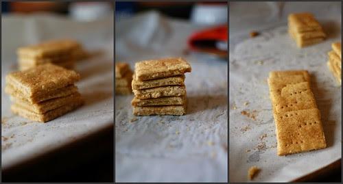 gluten-free graham crackers.