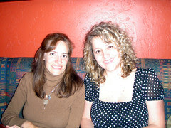 Blue Agave Dinner! Iva and Gina!