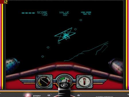 Atari's 1981 Arcade hit, Red Baron