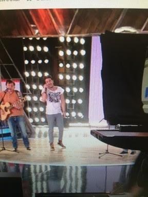 Luan Santana grava programa em São Paulo (Foto: Instagram/ Reprodução)