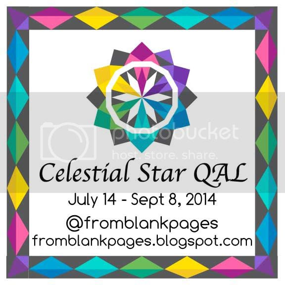 Celestial Star QAL with from blank pages...