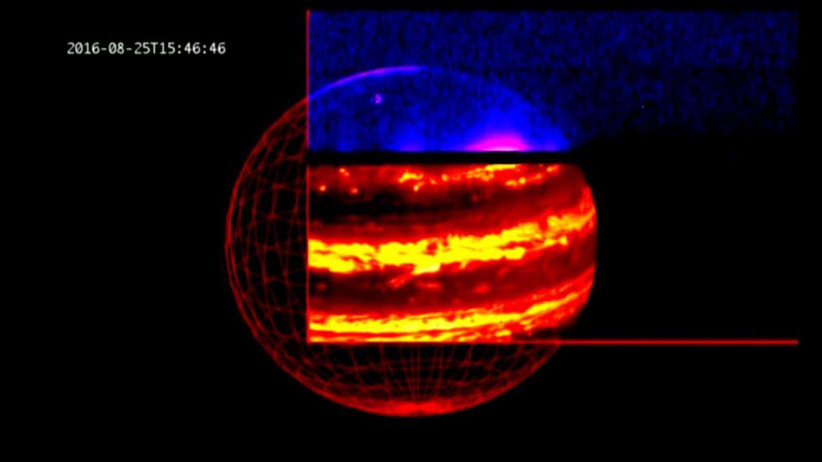 [VIDEO] Las desconcertantes primeras imágenes de Júpiter tomadas por la sonda Juno