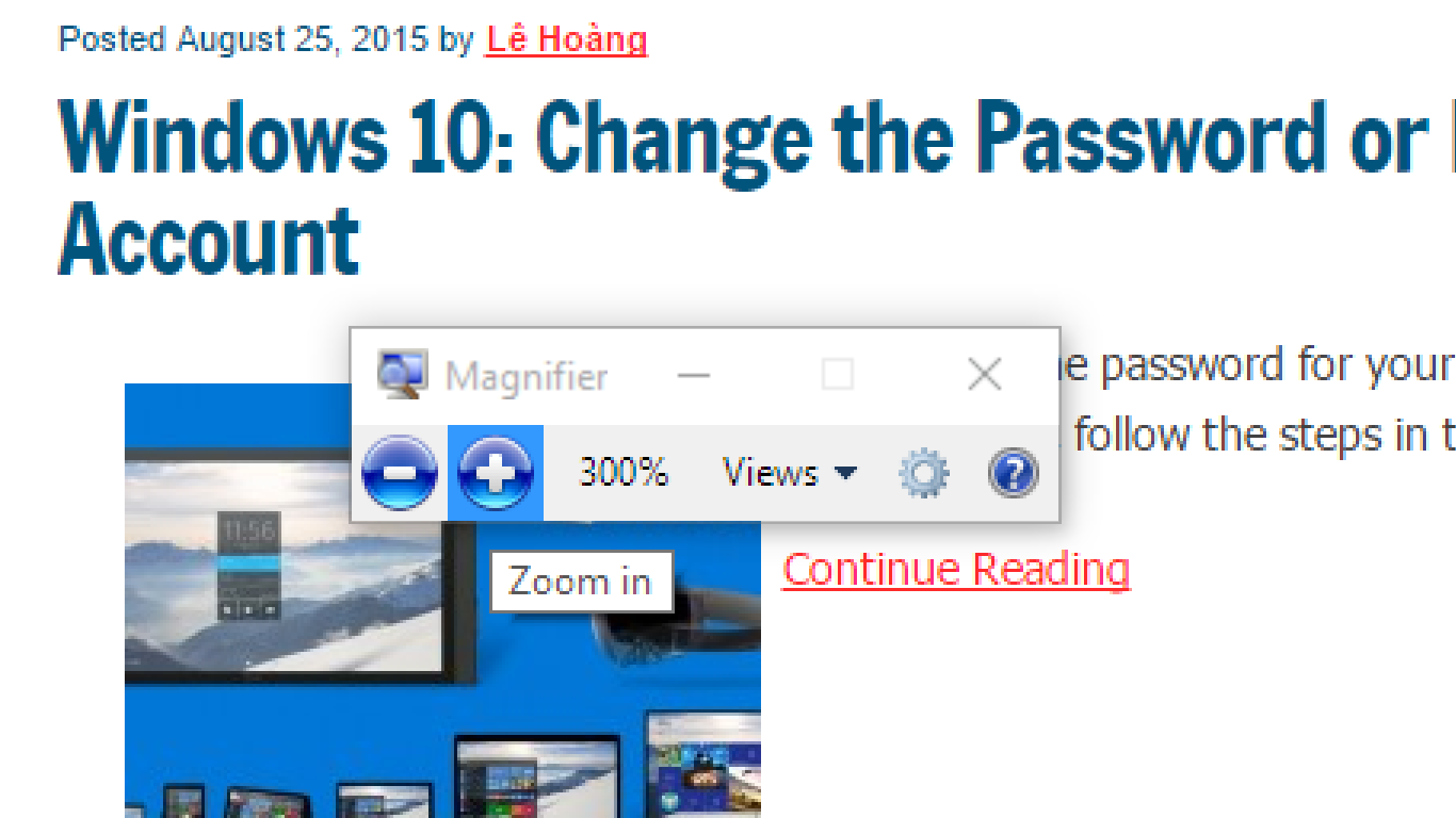 How to Use Windows Magnifier