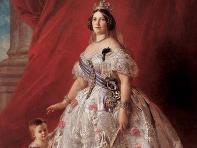 Isabel II de Borbón.